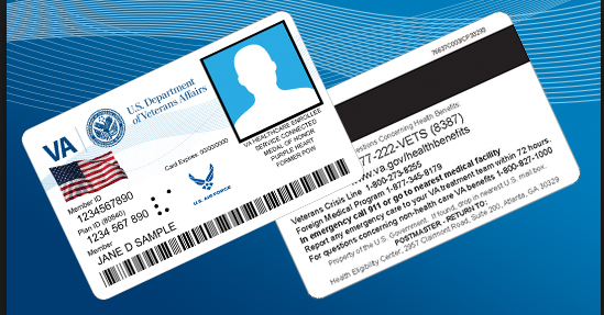 Department of Veterans Affairs Health Identification Card